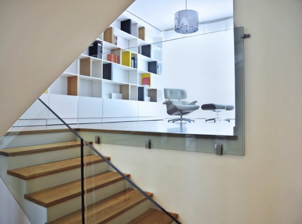 Интерьер двухквартирного дома от Postarch
