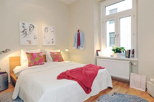 Великолепные спальни в скандинавском стиле