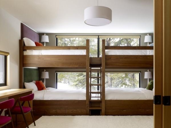 Дом в горах от John Maniscalco Architecture
