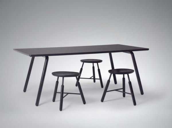Композиция мебели для творческой мастерской