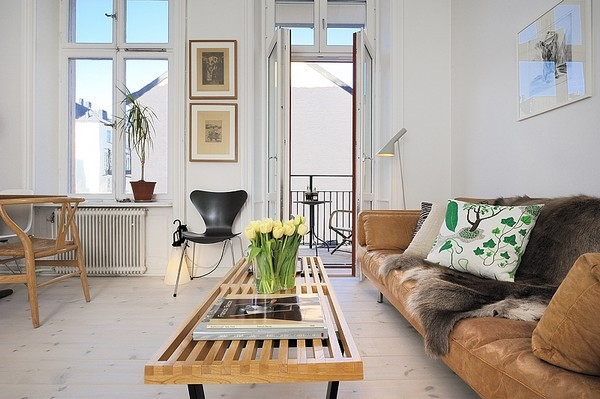 Лучшие гостиные в скандинавском стиле