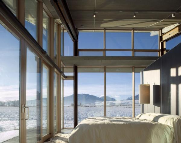 Стекло, сталь и дерево от Olson Kundig Architects