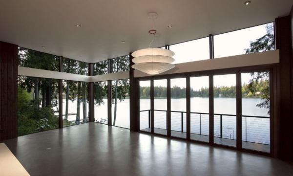 Дом на берегу озера от David Vandervort Architects