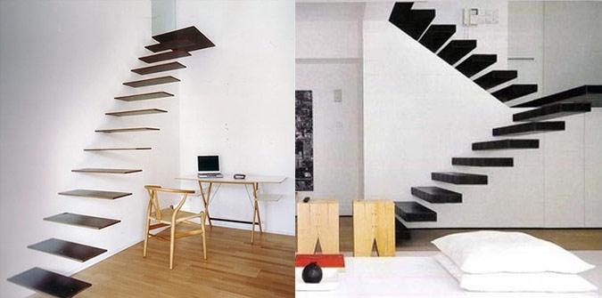 Необычные идеи для лестницы в доме