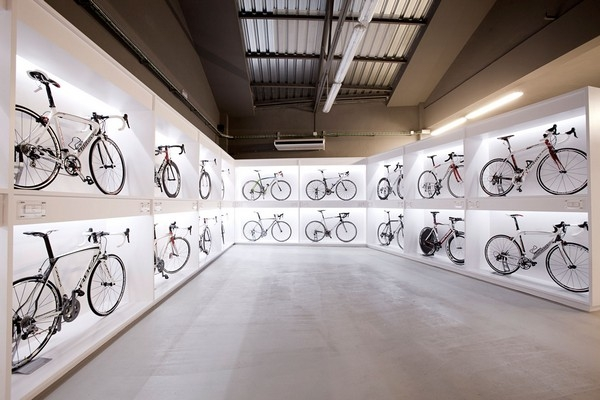 Захватывающий велосипедный бутик в Барселоне