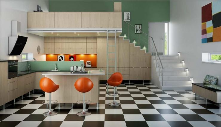 Скандинавское вдохновение в дизайне кухни