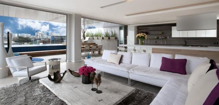 Современная роскошная городская жизнь от SAOTA  и OKHA Interiors