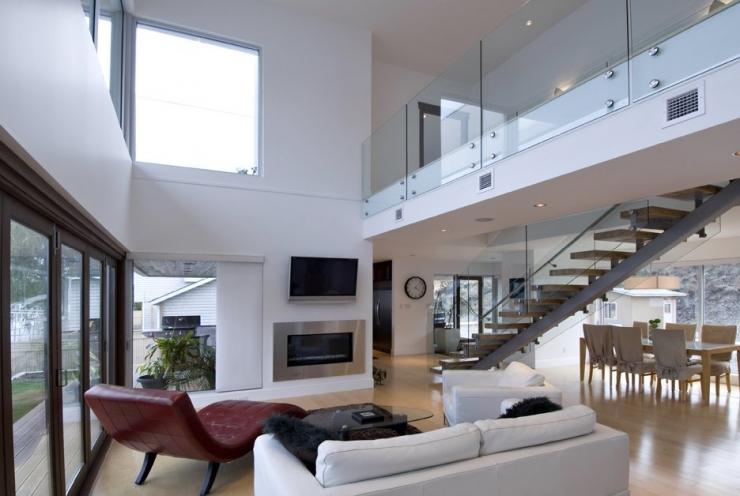 Дом с плоской крышей от CEI Architecture