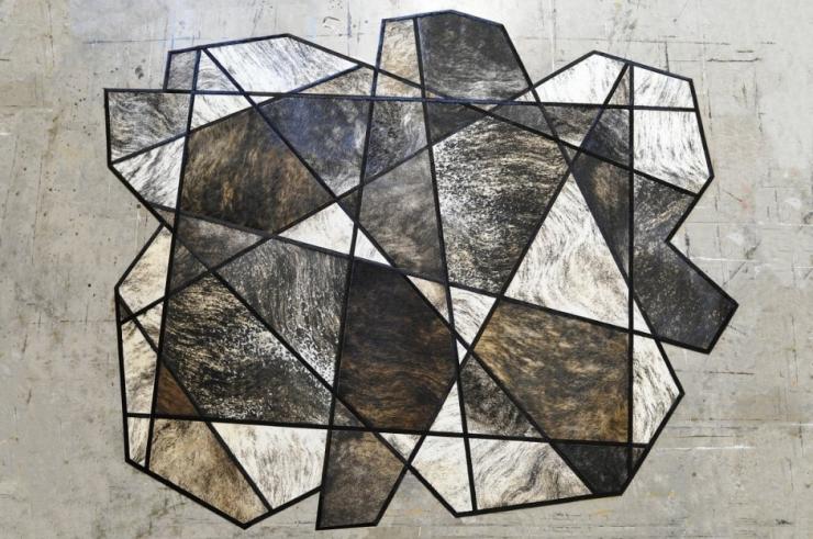 Современные кожаные ковры от Kyle Bunting