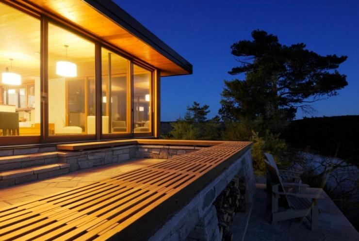 Дом на утесе от Altius Architecture