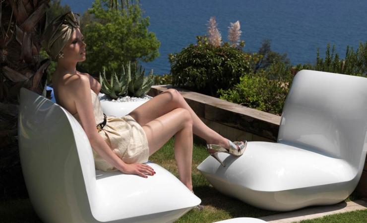 Коллекция мебели для патио Pillow от  Vondom