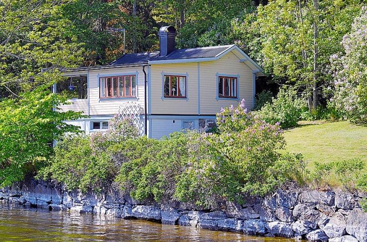 Фантастический приморский дом в Швеции