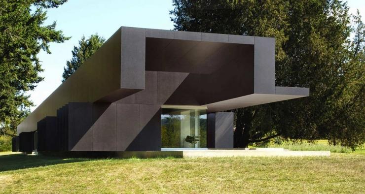 Линейный дом от Patkau Architects