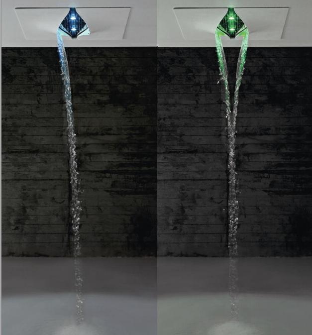 Душ-водопад с хромо терапией