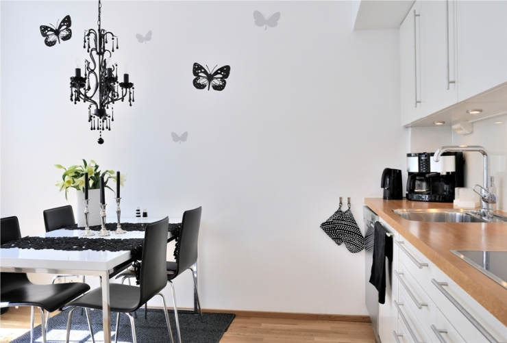 Дизайн однокомнатной квартиры с внутренним двориком