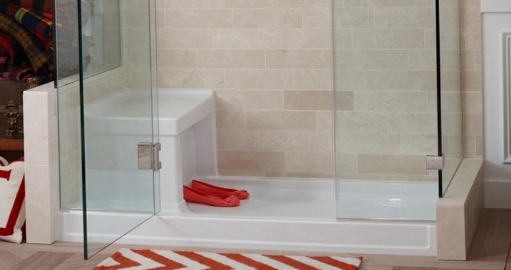 Эклектичная ванная комната от Kohler