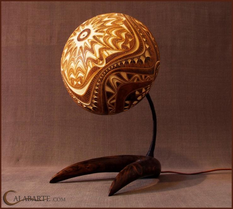 Экзотические художественные светильники от Calabarte