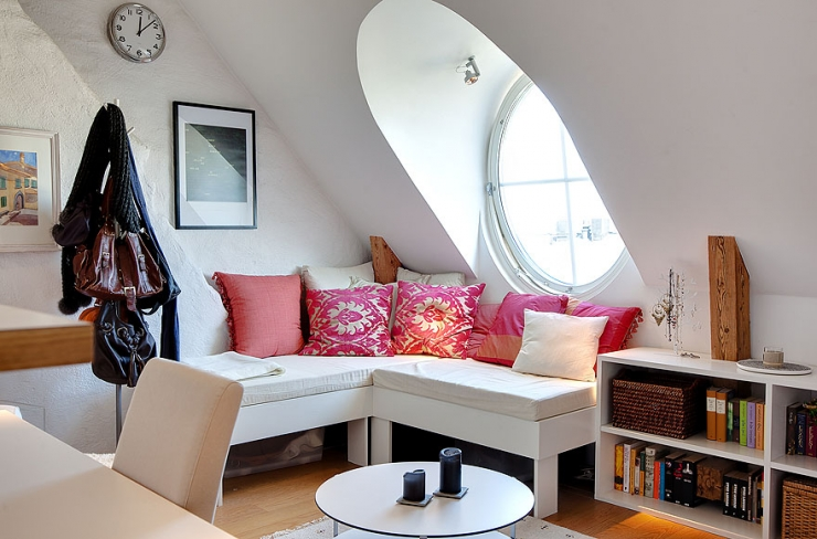 Захватывающая квартира в Швеции Skeppsholmen