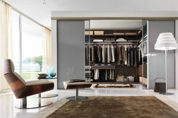 Идеи для гардеробной от Gruppo Euromobil
