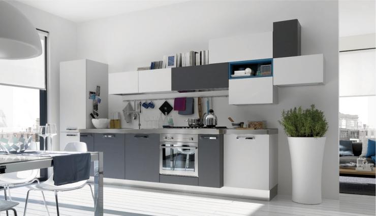 кухни белого цвета фото: