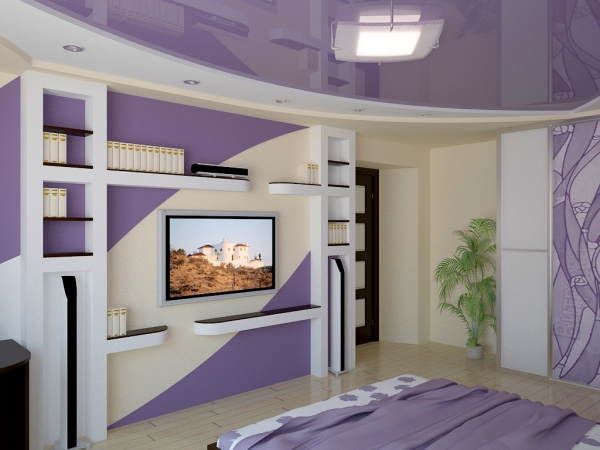 → спальня в современном стиле