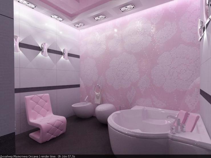 ванная для молодой семьи
