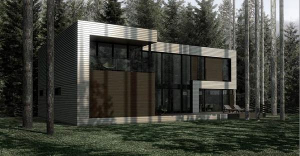 Загородный дом в посеке Охтинский парк.