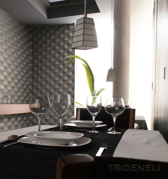 Интерьер бара-ресторана в стиле арт-деко