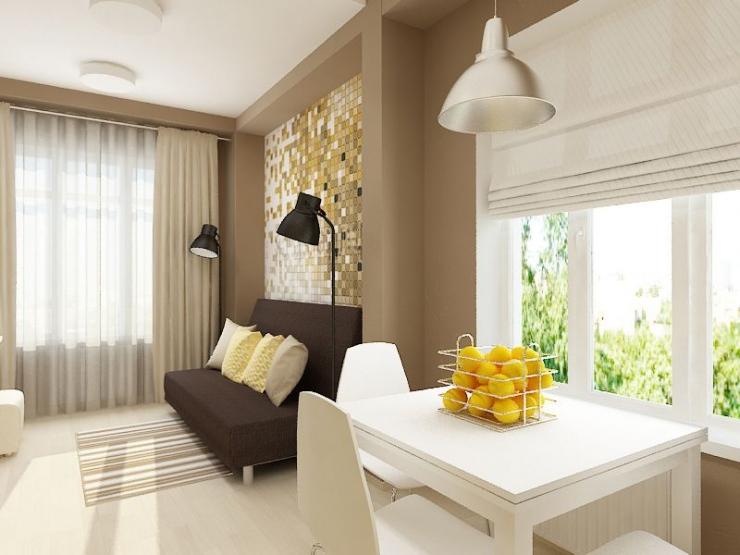 Дизайн квартиры 27 м