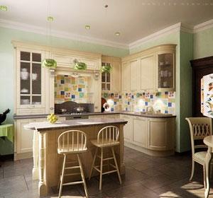 дизайн-проект интерьера кухни - nobilis.kiev.ua