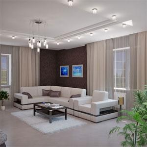дизайн-проект интерьера гостиной - nobilis.kiev.ua