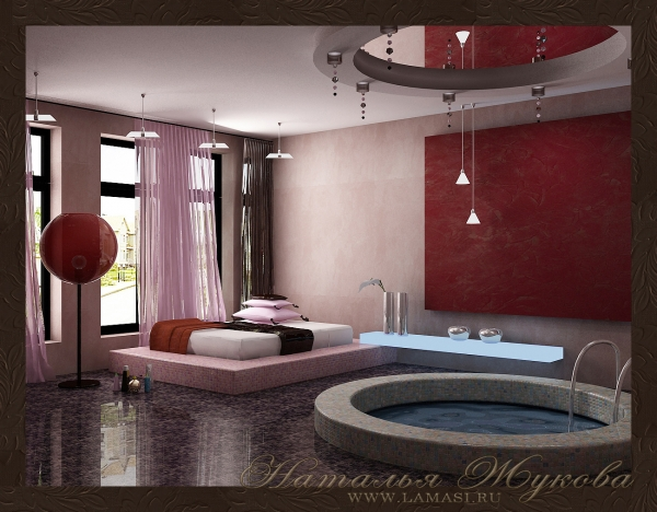 Дизайн интерьера spa