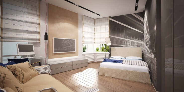 Спальная комната мальчика
