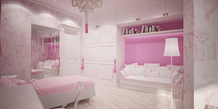 Спальная комната девочки