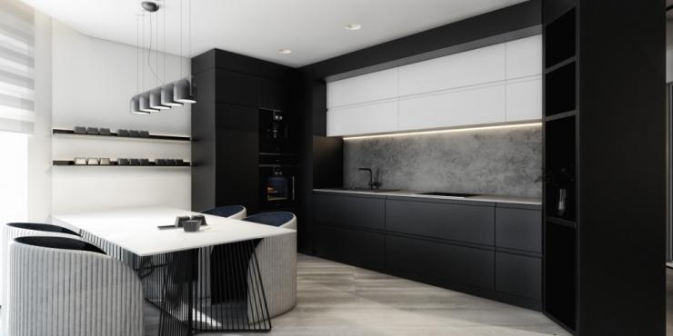 Гостиная-кухня — Невский стиль