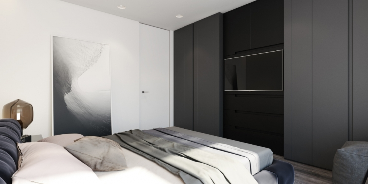 Спальная комната — Невский стиль