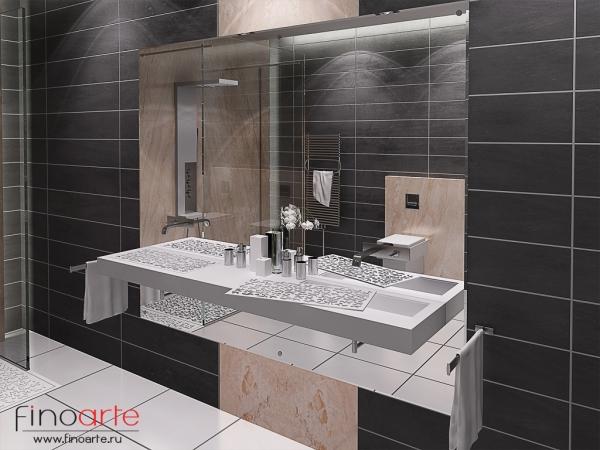 Интерьер ванной Вид 2