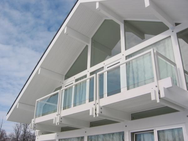 Новое поколение фахверковых домов.проектирование и строитель.