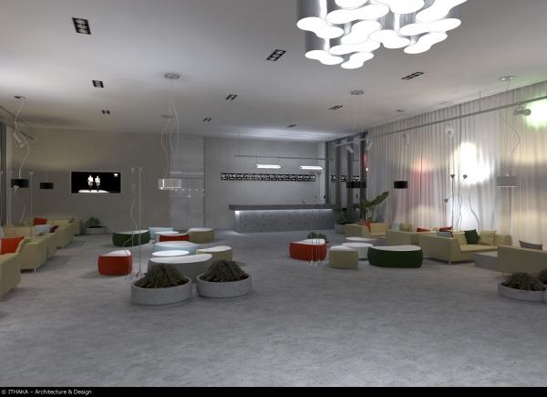 Лаунж-бар гостиницы