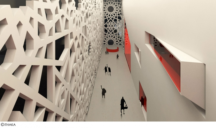 Галерея - фрагмент интерьера