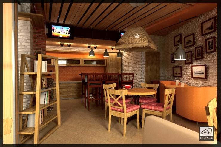 Дизайн уютных кафе