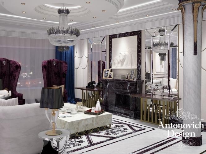 Шедевры Antonovich Design. Интерьер дома в стиле ар деко