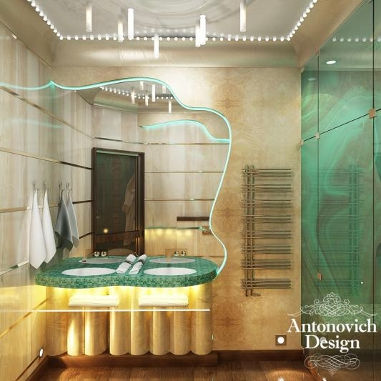 Интерьер ванной, дизайн интерьера ванной, антонович дизайн, екатерина антонович, Antonovich Design