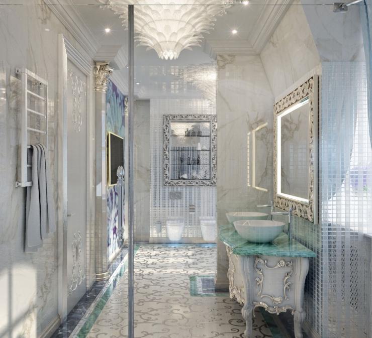 Дизайн интерьера, дизайн ванной комнаты, дизайн дома Алматы
