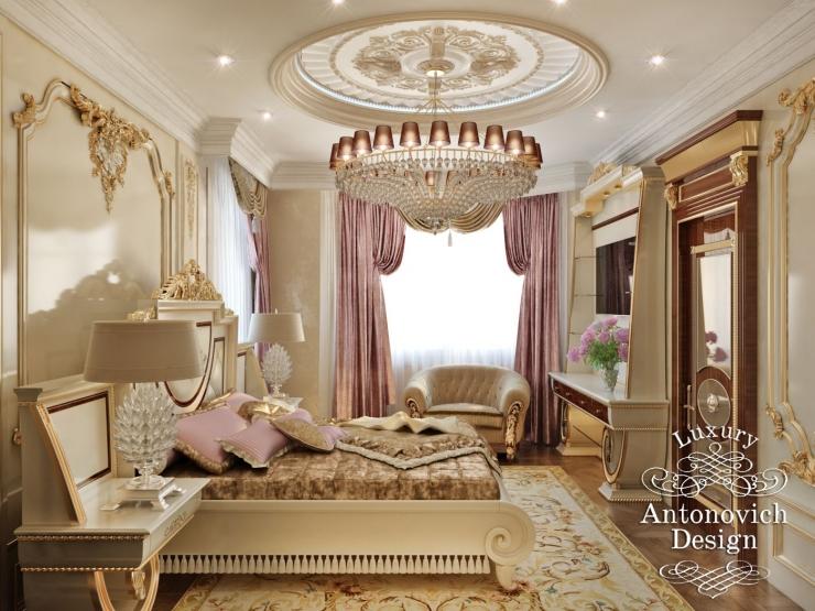 Дизайн спальни, дизайн интерьера, Елена Антонович, Светлана Антонович