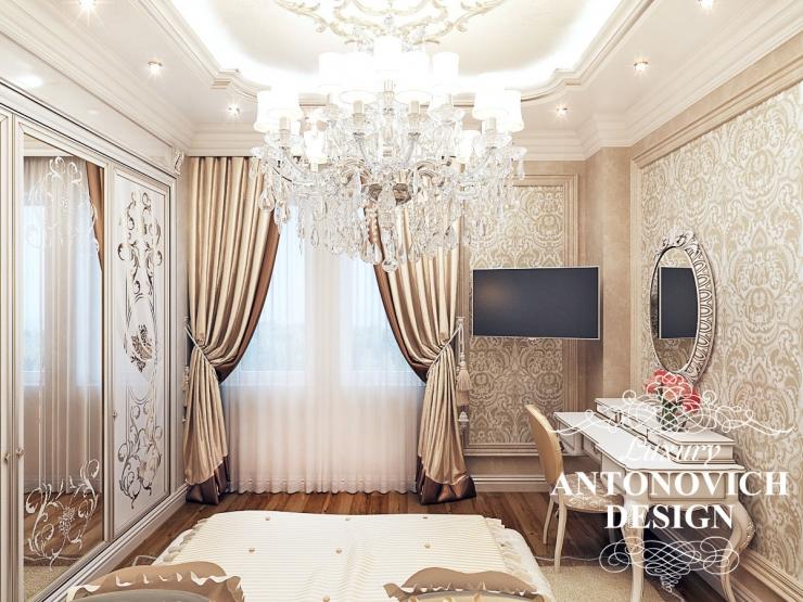 Дизайн спальни, дизайн интерьера, Светлана Антонович