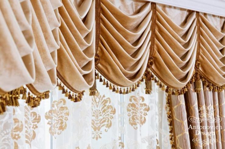 Дизайн штор, пошив штор, заказать пошив штор, дизайн интерьера