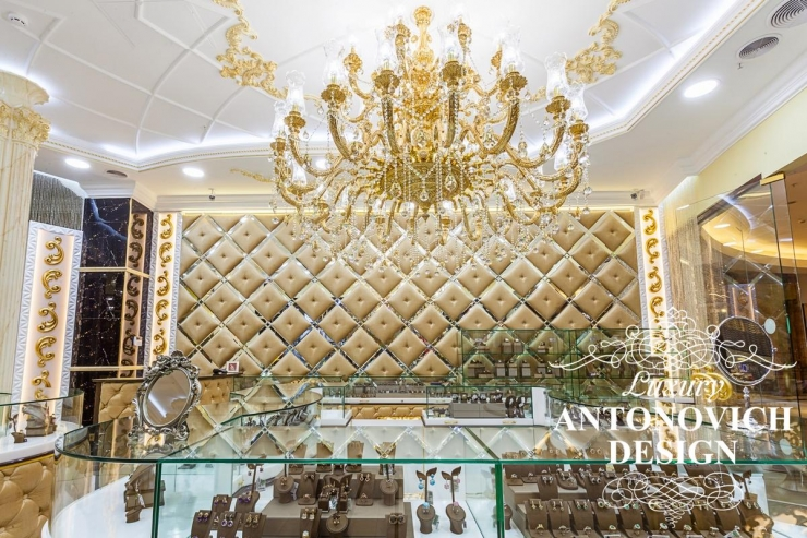 Luxury Antonovich Design, Светлана Антонович, дизайн ювелирного салона