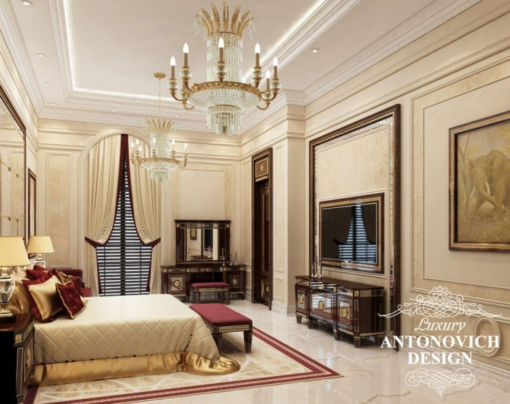 Антонович Дизайн, Luxury Antonovich Design, дизайн спальни, светлана антонович.