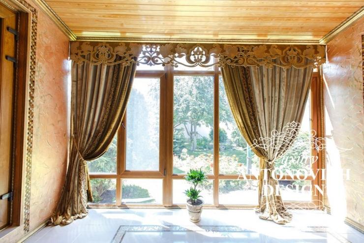 Luxury Antonovich Design, шторы, пошив штор, дизайн штор